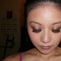 Beauty, Makeup, Up, Trial, Make, Smoky, Eyes, Soft, Eyelash