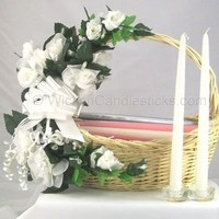 white, Gifts, Gift, Bridal, Candle, Basket, Poem