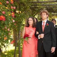 Ceremony, Flowers & Decor, Bridesmaids, Bridesmaids Dresses, Wedding Dresses, Fashion, orange, pink, dress, Bridesmaid