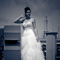 Beauty, Wedding Dresses, Fashion, blue, dress, Hair, Cedric carter photography