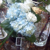 Flowers & Decor, blue, Bride Bouquets, Flowers, Roses, Bouquet, Hydrangeas, Renejohn designs