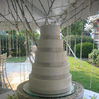 Ceremony, Inspiration, Reception, Flowers & Decor, Cakes, silver, cake, Board