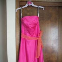 Bridesmaids, Bridesmaids Dresses, Wedding Dresses, Fashion, orange, pink, dress