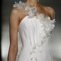 Wedding Dresses, Fashion, dress, A, Line, Flowery