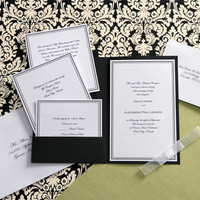 Stationery, white, black, Invitations, Joann fabric and craft stores