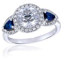 Jewelry, white, blue, silver, Id jewelry llc