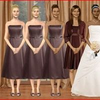 Inspiration, Bridesmaids, Bridesmaids Dresses, Wedding Dresses, Fashion, brown, dress, Board