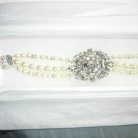 Jewelry, Bracelets, Brooches, Bracelet, Brooch, Haute bride
