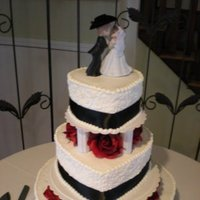 Reception, Flowers & Decor, Cakes, white, red, black, cake, Cupcakes, Bride, Groom, Dessert, Wedding, Custom, Bridal, Anniversary, Bar, Bakery, Birthday, Michigan, Mitzvah, Grand, Port, Burton, Pastry, Oxford, Detroit, Graduation, The place for cake, Davison, Lapeer