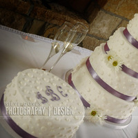 Reception, Flowers & Decor, Cakes, purple, cake, Table, Decoration