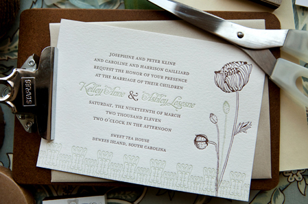 Flowers & Decor, Stationery, invitation, Garden, Garden Wedding Invitations, Invitations, Outdoor, Flower, Floral, Botanical, Natural, Vineyard wedding invitation, Delphine