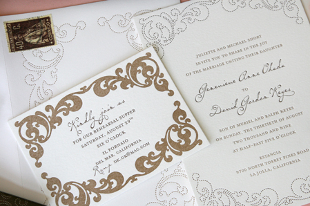 Inspiration, Stationery, white, brown, invitation, Classic, Classic Wedding Invitations, Invitations, Southern, Arch, Chocolate, Board, Traditional, Letterpress, Design, Simple, South, Meeting, Press, Charleston, Street, Letter, Cotton, Delphine