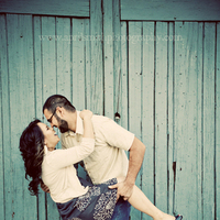 blue, Engagement, Pasadena, April smith photography