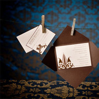 Inspiration, Stationery, blue, brown, silver, gold, Invitations, Board, Creative designs by mimi