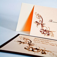 Inspiration, Stationery, pink, brown, Invitations, Board, Creative designs by mimi
