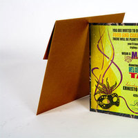 Stationery, white, yellow, orange, pink, red, purple, blue, green, brown, silver, gold, Invitations, Creative designs by mimi