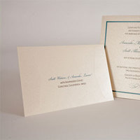 Stationery, white, blue, black, silver, gold, Invitations, Creative designs by mimi