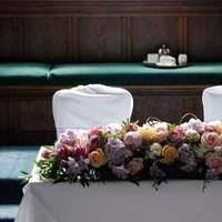 Ceremony, Reception, Flowers & Decor, white, pink, purple, Ceremony Flowers, Flowers, The flower company