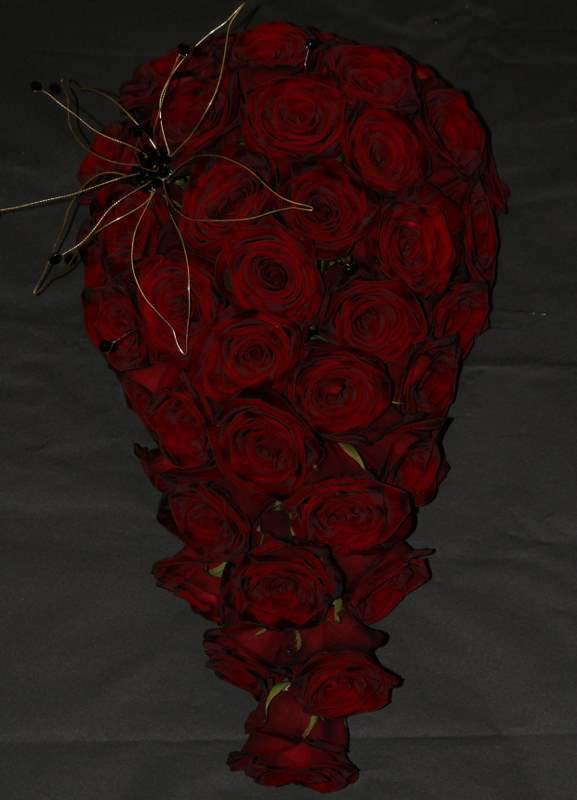 Flowers & Decor, red, Bride Bouquets, Flowers, Bouquet, The flower company