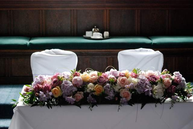 Ceremony, Reception, Flowers & Decor, white, pink, purple, Ceremony Flowers, Flowers, The flower company