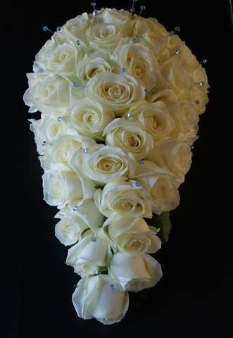 Flowers & Decor, white, blue, Bride Bouquets, Flowers, Bouquet, The flower company