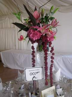 Reception, Flowers & Decor, pink, Flowers, The flower company