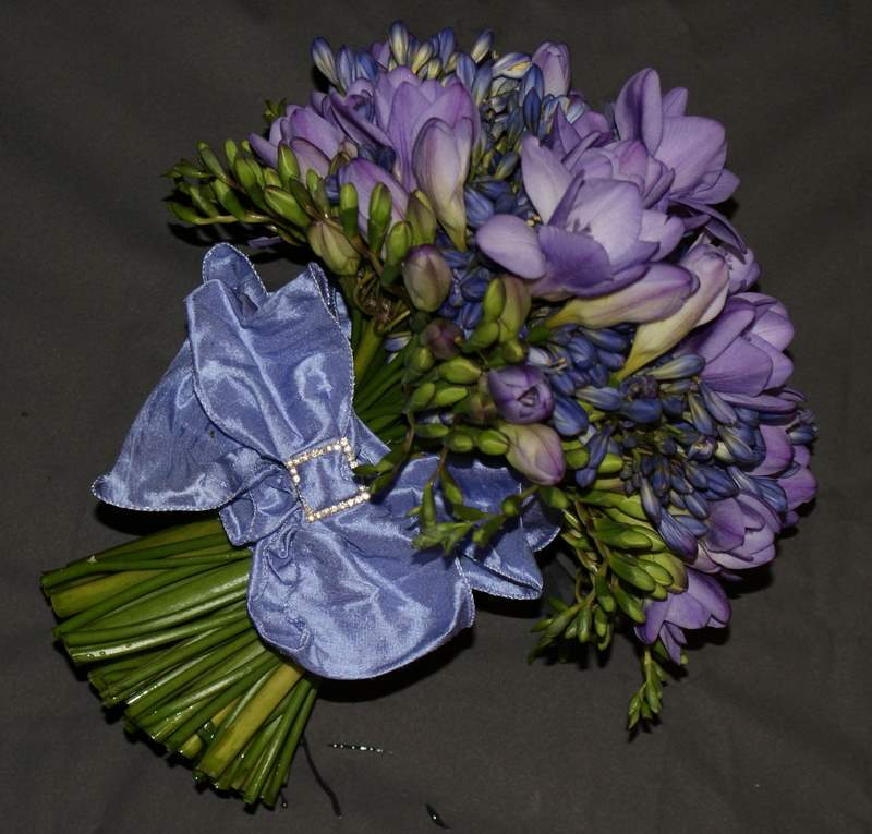 Flowers & Decor, Bridesmaids, Bridesmaids Dresses, Fashion, purple, blue, Bride Bouquets, Bridesmaid Bouquets, Flowers, Bouquet, The flower company, Flower Wedding Dresses