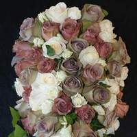 Flowers & Decor, pink, brown, gold, Bride Bouquets, Flowers, Bouquet, The flower company