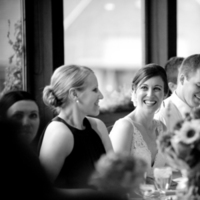Reception, Flowers & Decor, white, black, Wedding, Table, Toasts, And, St, Head, Paul, Club, Country, Minnesota, Town, Emma freeman photography
