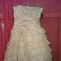 Bridesmaids, Bridesmaids Dresses, Wedding Dresses, Fashion, white, gold, dress