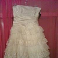Bridesmaids, Bridesmaids Dresses, Wedding Dresses, Fashion, white, gold, dress
