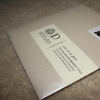DIY, Stationery, white, red, black, Invitations, Pocketfold, Damask
