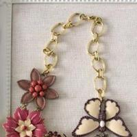 Flowers & Decor, Jewelry, Bridesmaids, Bridesmaids Dresses, Fashion, red, brown, black, gold, Necklaces, Bride, Flower, Necklace, Shower, Luncheon, Stella dot stylist elizabeth pennywell