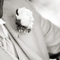 Photography, Fashion, white, black, Men's Formal Wear, Groom, And, Rose, Tuxedo, Boutaineer
