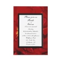 Flowers & Decor, Stationery, red, invitation, Invitations, Flower, Floral, Tulip, Wedding invitation, A wedding collection by lora severson photography, Floral wedding, Tulip wedding, Red tulip