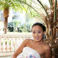 Flowers & Decor, Wedding Dresses, Fashion, white, pink, dress, Bride Bouquets, Bride, Flowers, Roses, Bouquet, Wedding, Flower Wedding Dresses
