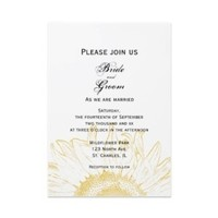 Flowers & Decor, Stationery, yellow, invitation, Invitations, Flower, Floral, Wedding invitation, Sunflower, A wedding collection by lora severson photography, Sunflower wedding, Floral wedding