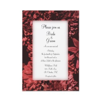 Flowers & Decor, Stationery, red, Invitations, Flower, Floral, Wedding invitation, Mum, Fall wedding, Autumn wedding, A wedding collection by lora severson photography, Floral wedding, Red mum, Chrysanthemum