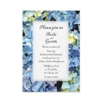 Flowers & Decor, Stationery, blue, Invitations, Flower, Floral, Hydrangea, Wedding invitation, A wedding collection by lora severson photography, Floral wedding, Hydrangea wedding, Blue hydrangea