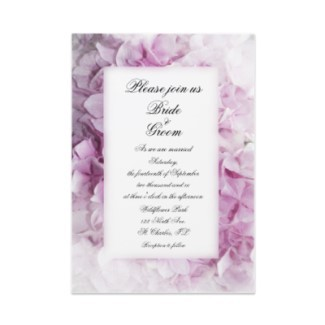 Flowers & Decor, Stationery, pink, invitation, Invitations, Flower, Floral, Hydrangea, Wedding invitation, Pink hydrangea, A wedding collection by lora severson photography, Floral wedding, Hydrangea wedding