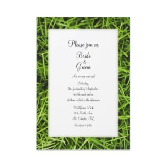 Stationery, green, invitation, Invitations, Outdoor, Grass, Wedding invitation, Nature, Casual, Outdoor wedding, A wedding collection by lora severson photography, Backyard wedding, Casual wedding
