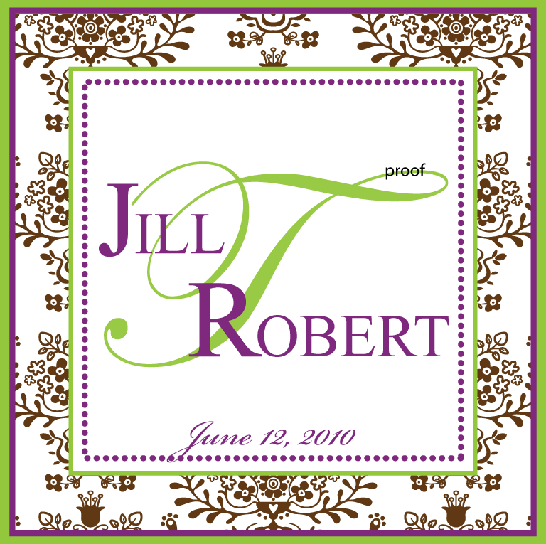 Stationery, Invitations, Monogram