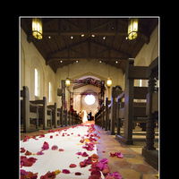 Ceremony, Flowers & Decor, white, orange, pink, Ceremony Flowers, Aisle Decor, Flowers, Church, Aisle, Runner, Santa barbara, Gloria plunkett photography
