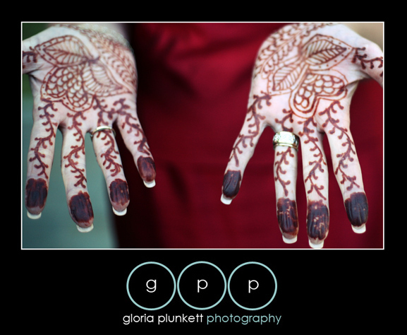 Beauty, Ceremony, Flowers & Decor, Wedding Dresses, Fashion, orange, red, silver, gold, dress, Makeup, Hindu, Henna, Gloria plunkett photography