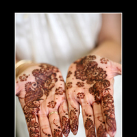 Beauty, Ceremony, Flowers & Decor, Wedding Dresses, Fashion, white, brown, dress, Makeup, Hindu, Henna, Gloria plunkett photography