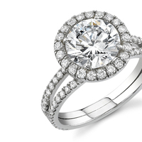 Jewelry, Diamond ring, Diamond resetting, Diamond remount