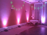 Reception, Flowers & Decor, pink, Lighting