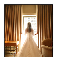 Beauty, Flowers & Decor, Wedding Dresses, Veils, Fashion, white, yellow, gold, dress, Flowers, Portrait, Veil, Hotel, Hair, Window, Gloria plunkett photography, Flower Wedding Dresses