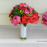 Flowers & Decor, white, pink, purple, silver, Flowers, Bouquets, Onada photography