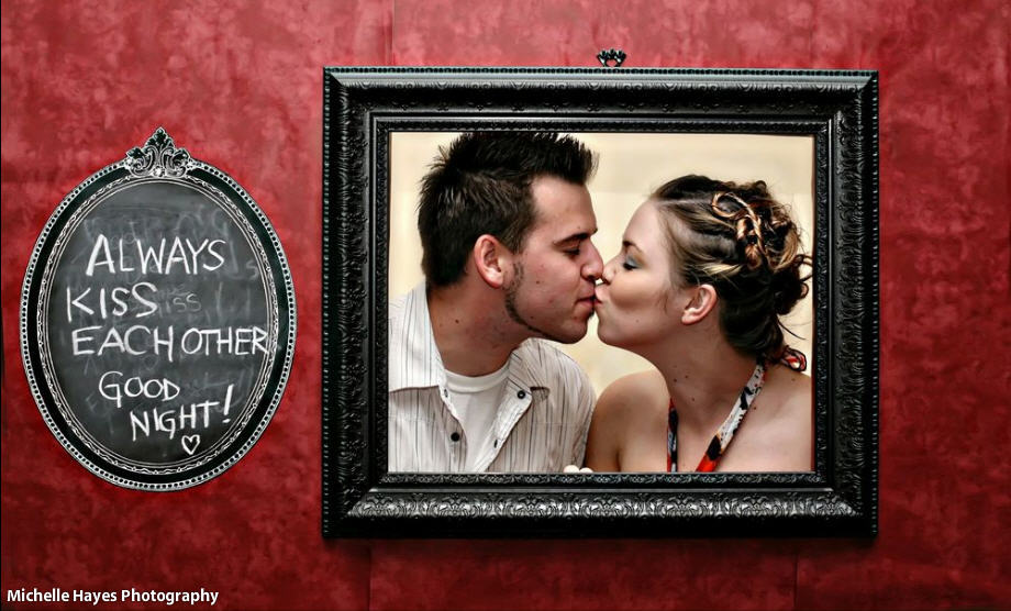 Reception, Flowers & Decor, red, black, Photobooth, Ideas, Frames, The stylish soiree